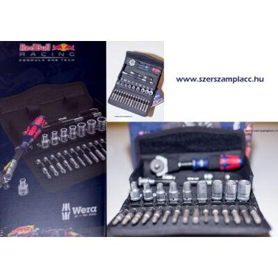 """Racsnis dugókulcs klt. SA6 1/4"""" Red Bull Racing"""