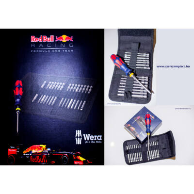 Csavarhúzó klt. 60 Stainless Red Bull Racing