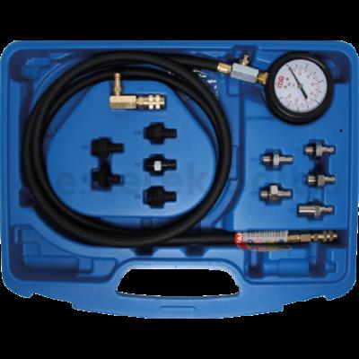 BGS olajyomás mérő készlet 0-10 bar
