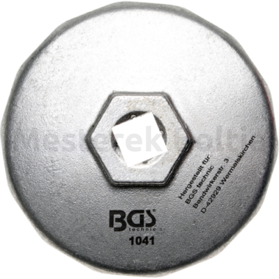 BGS olajszűrő leszedő kupak 74mmx14 lap