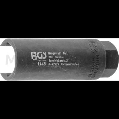 """BGS lambdaszonda kiszerelő 22mm eltolt 3/8"""""""