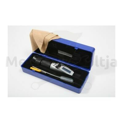 Refraktométer - fagyálló, akkusav, ablakmosó, AdBlue folyadékmérő 4:1-ben