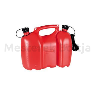 Kettős üzemanyag kanna, piros 6+3 liter          ( Huenersdorff )