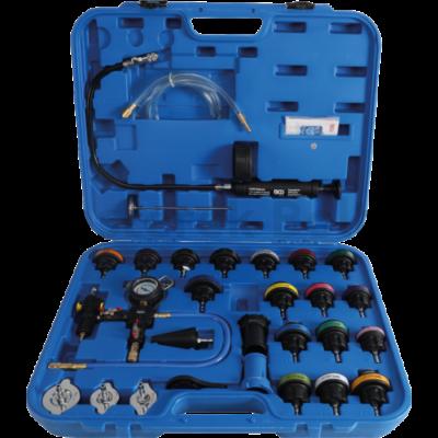 BGS Hűtőrendszer nyomásmérő készlet 24 részes