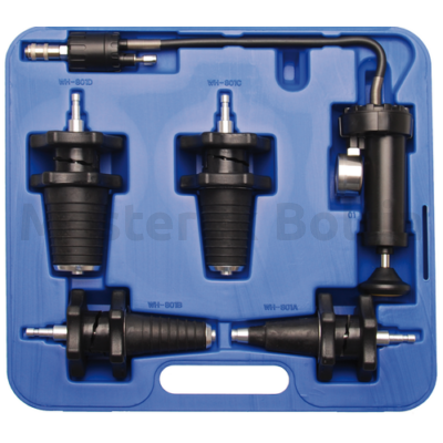 BGS Hűtőrendszer nyomásmérő készlet 5 részes