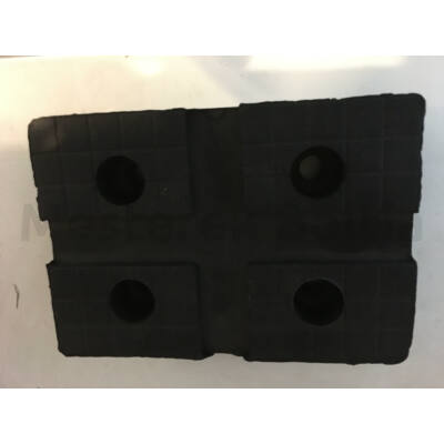 Gumipogácsa csápos emelőhöz 115x80mm téglatest