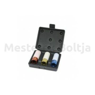 1/2˝ gépi kerék dugókulcs készlet 3r. 17; 19; 21mm