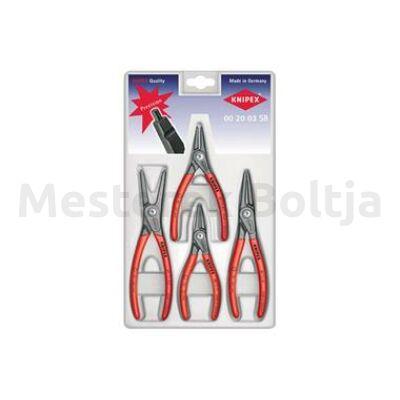 Knipex Precíziós zégergyűrű fogó készlet