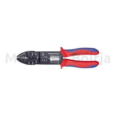 Knipex Crimp fogó, többkomponensű markolat, 240mm