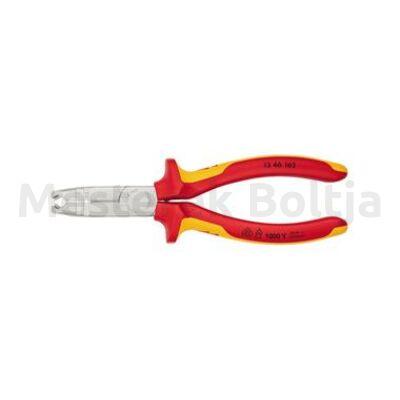 Knipex Kábelcsupaszító fogó 165mm