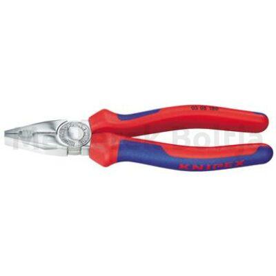 Knipex Kombinált fogó 180mm több komponensű markolat