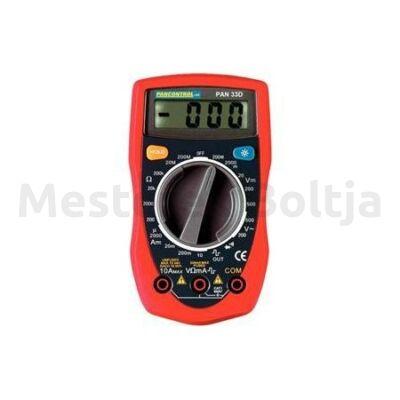 Digitális multiméter pan 33d 0,1mV-250V